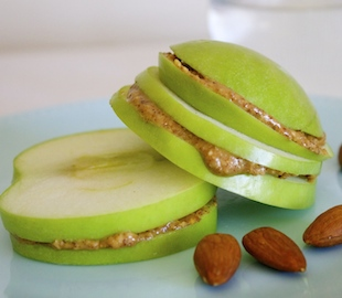 Apple Nut Butter Slices