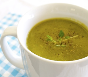 Pumpkin and Kale Soup