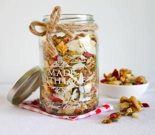 Christmas Granola (grain free)