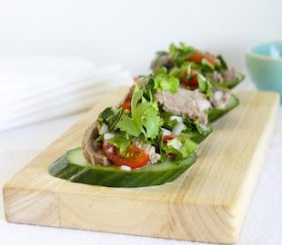 Mini Thai Lamb Salad Bites