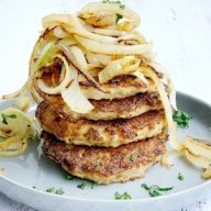 Low Carb Cauliflower Hashbrowns