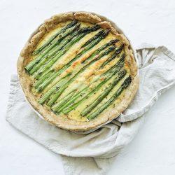 Gluten Free Asparagus Quiche