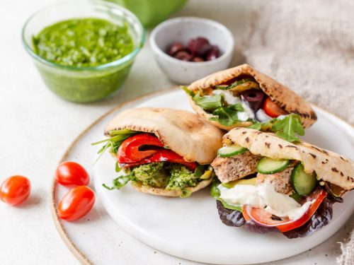 Gluten Free Pita Pockets Live Love Nourish