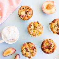 PEACHES & CREAM MUFFINS – GF DF EGG FREE