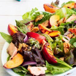 Salmon & Nectarine Salad