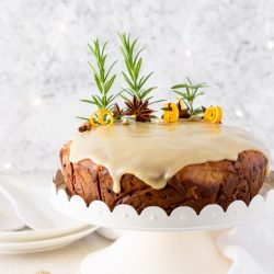 Gluten Free Chai Spiced Christmas Cake