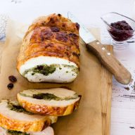 Pesto & Cranberry Rolled Turkey