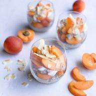 Apricot & Coconut Chia Pudding