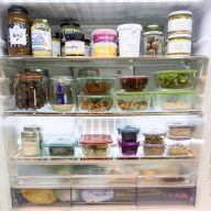 How To Organise Your Fridge To Inspire Simple and Healthy Meal Times
