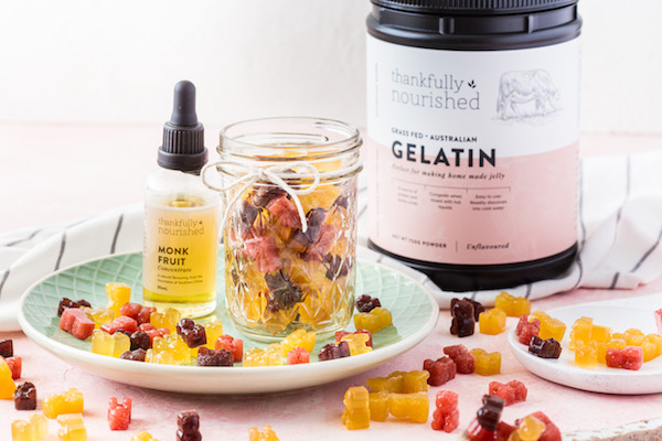 Gut Healing Gelatin Gummies Recipe