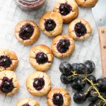 Gluten Free Grape Jam Drops