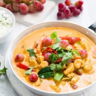 Thai Red Curry with Grapes