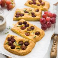 Gluten Free Grape Focaccia