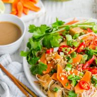 Satay Papaya Noodles