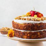 Healthier Carrot Cake - Gluten Free Recipe