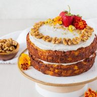 Healthier Carrot Cake – Gluten Free
