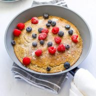 One-Pan Healthy Baked Pancake