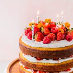 Gluten Free Birthday Cake Recipe