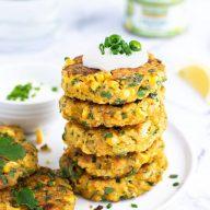 GF Tuna Quinoa & Corn Fritters