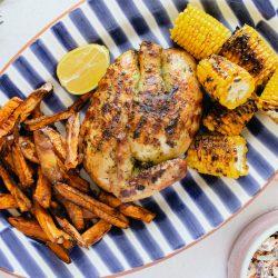 Lemon & Herb Chicken & Piri Piri Coleslaw